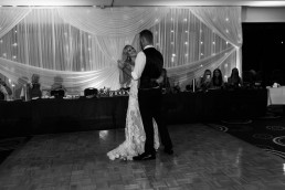 Bride & Groom first dance at Beach House Hotel