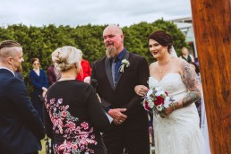 Bride an Father