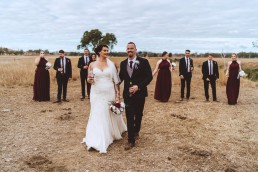 Bridal party at the Old Sation