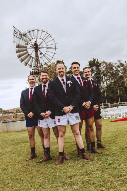 Footy shorts groomsmen