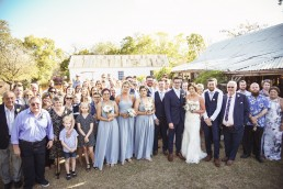 Wedding at Glenmore Homestead