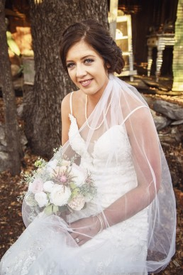 Bride at Glenmore Homestead