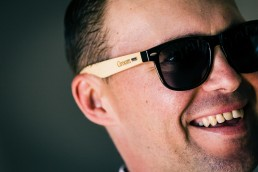 groom sun glasses