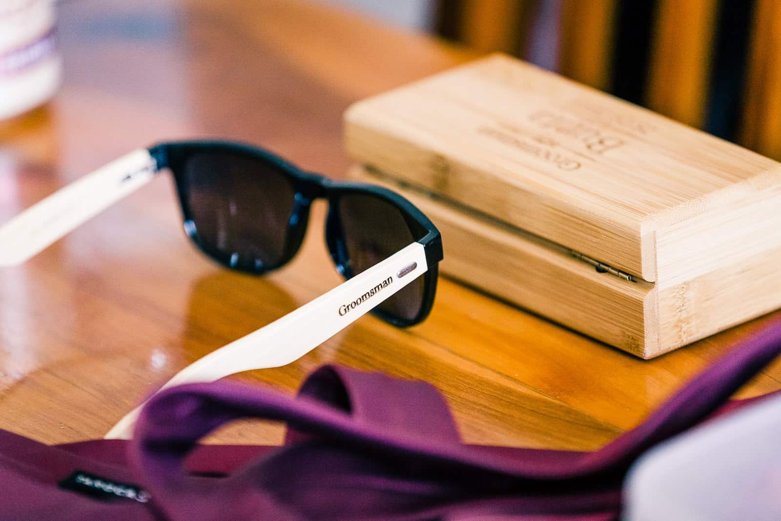 groomsmen sun glasses