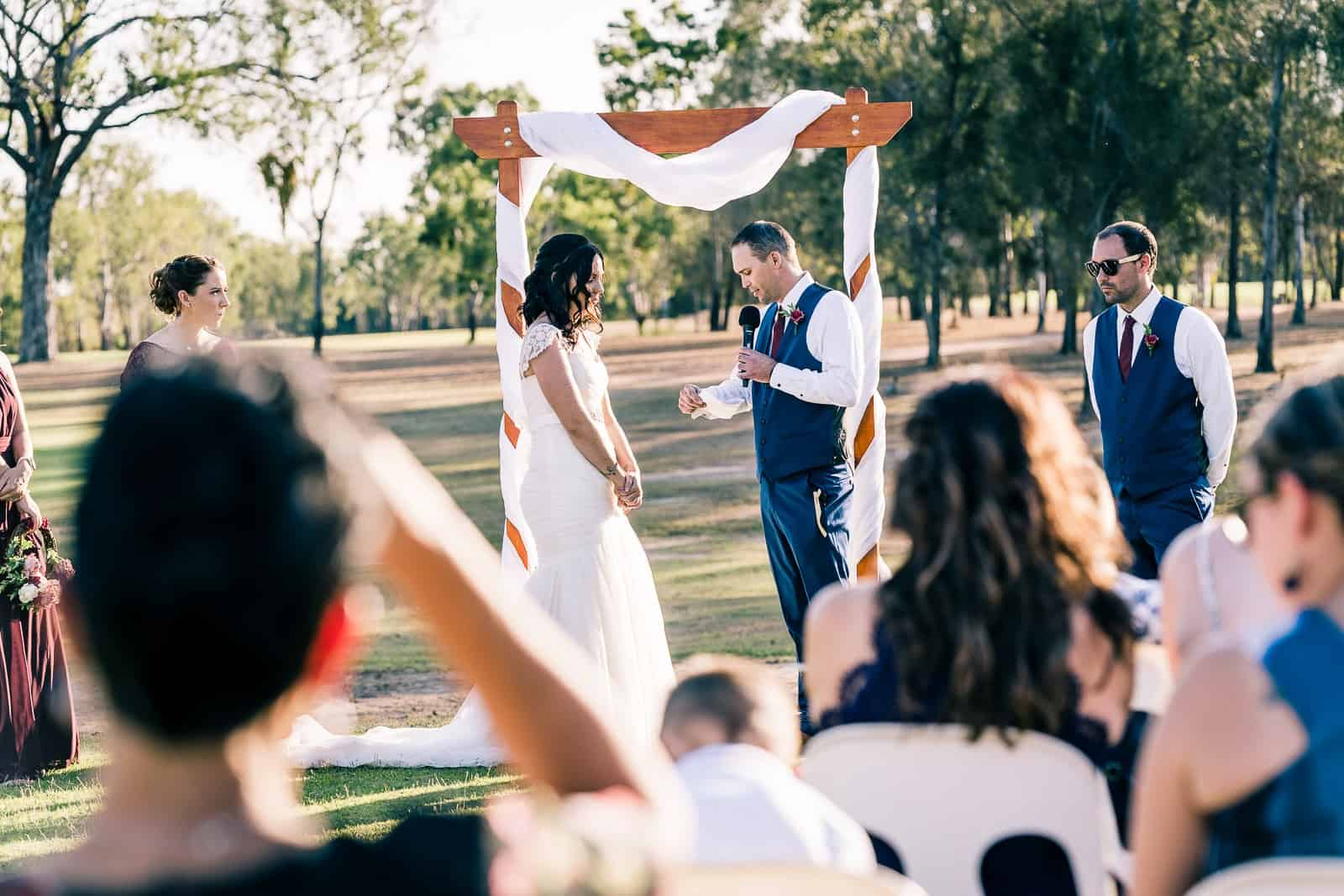 gracemere golf course wedding