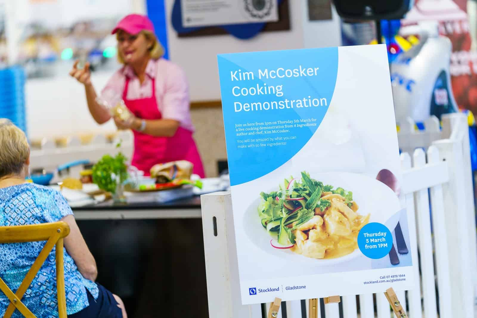Kym McCosker at Stockland Gladstone
